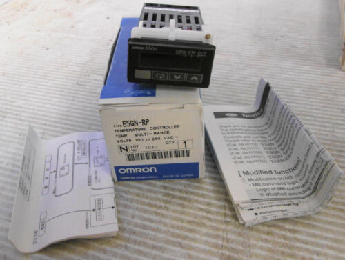 Omron E5GN-RP Temperature Controller 100-240VAC 50/60Hz 7VA