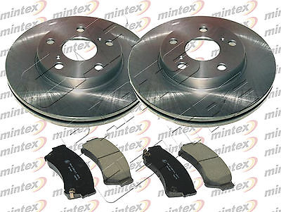 FOR MAZDA 6 GH 2.2 DIESEL 2.2DT FRONT MINTEX BRAKE DISCS and PAD PADS SET 08-13