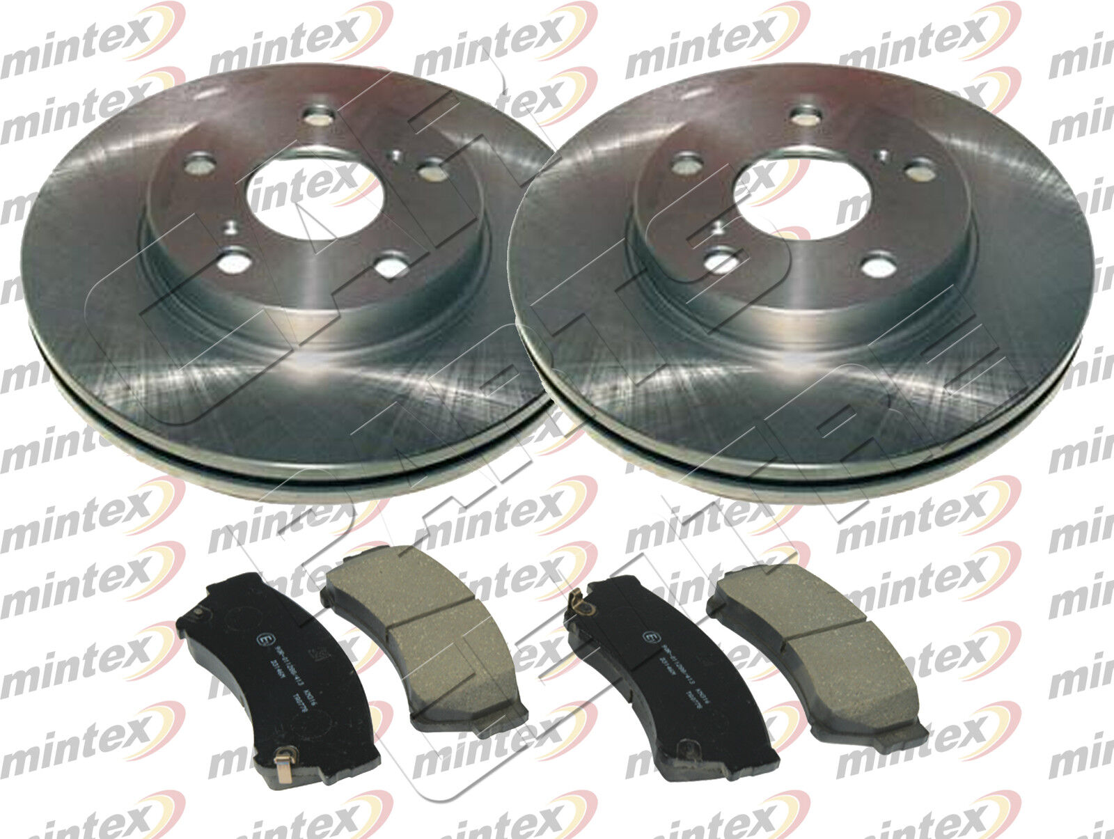 FOR MAZDA 6 GH 2.2 DIESEL 2.2DT FRONT MINTEX BRAKE DISCS and PAD ...