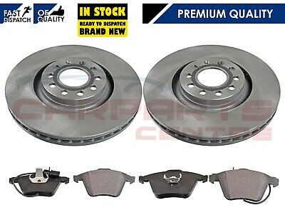 Audi A4 Avant 2.0 Tdi 01//05-02//08 Drilled Grooved Rear Brake Discs+Pads