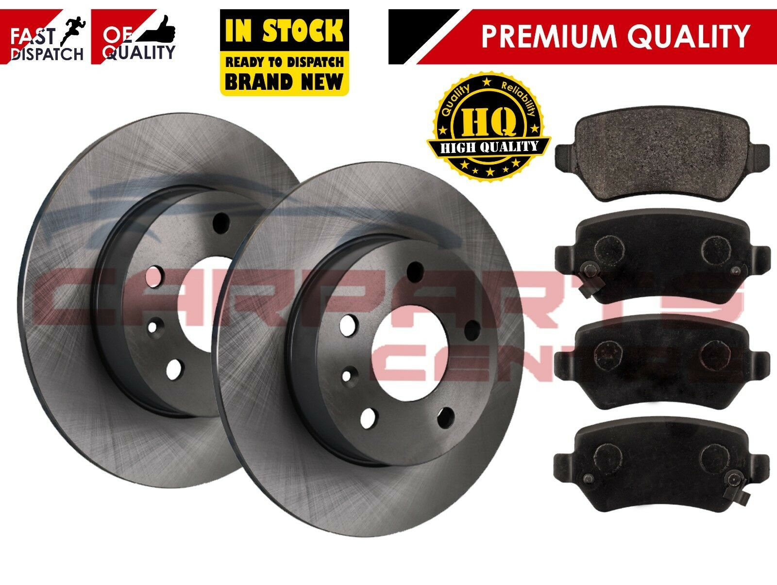 Fits Opel Astra H 1.7 CDTi Genuine Mintex Rear Brake Pad Fitting Kit