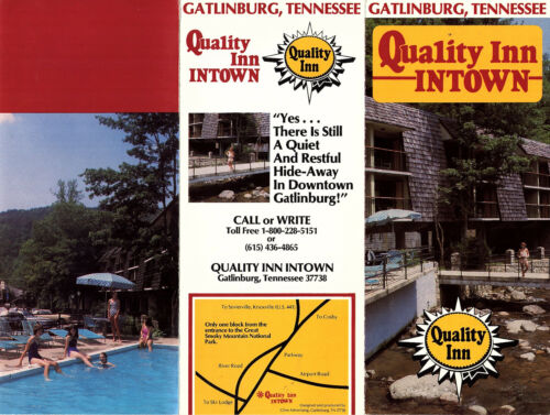 Quality Inn Intown Gatlinburg TN 1980