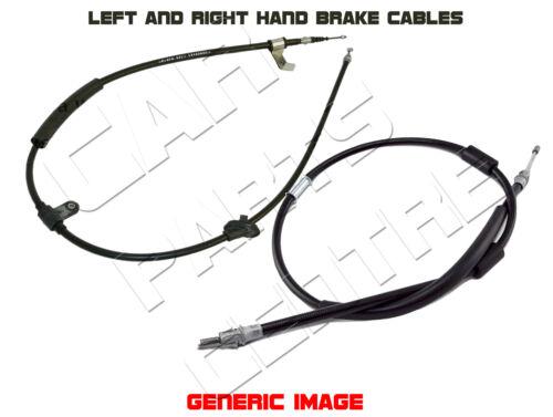 FOR ALFA ROMEO BRERA REAR LEFT RIGHT HANDBRAKE HAND BRAKE PARKING CABLE CABLES