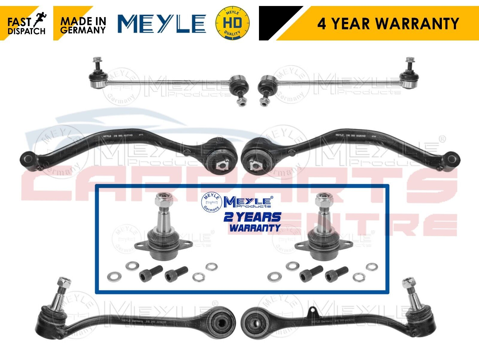 Suspension Track Control Arm Front//Left//Lower for BMW X3 E83 18d 20i 30d 04-on