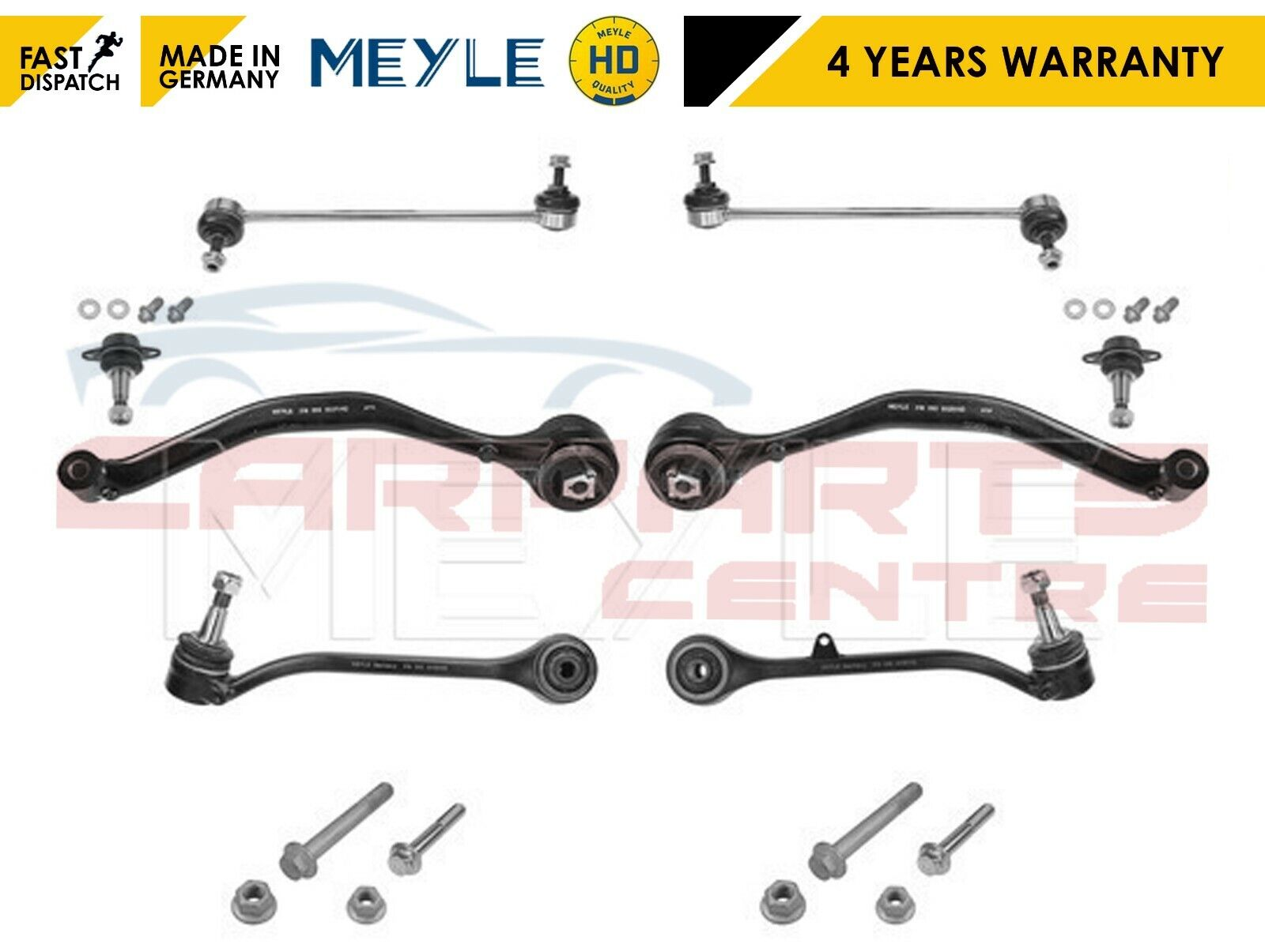for BMW X3 E83 2 FRONT LOWER REAR AXLE SUSPENSION WISHBONE TRACK CONTROL ARMS