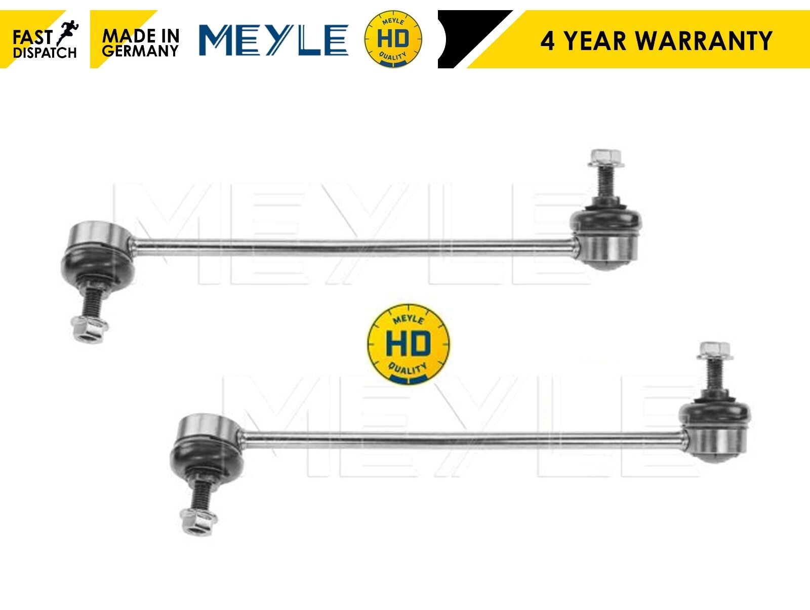 2x FRONT ANTI-ROLL STABILISER DROP LINK ROD LEFT RIGHT FOR BMW Z4 NEW