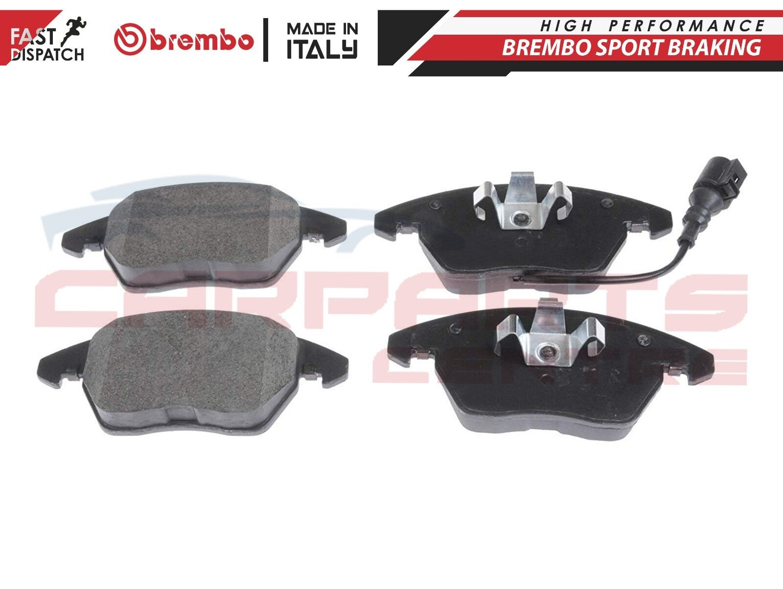 P06030 Genuine OE Quality Brembo Front Brake Pads