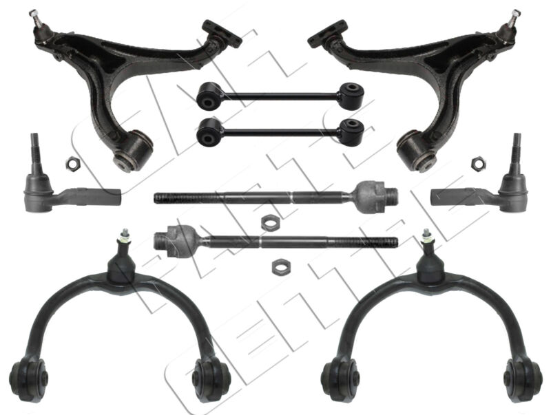 FOR COMMANDER XH XK FRONT UPPER LOWER CONTROL ARMS LINKS INNER OUTER ROD ENDS