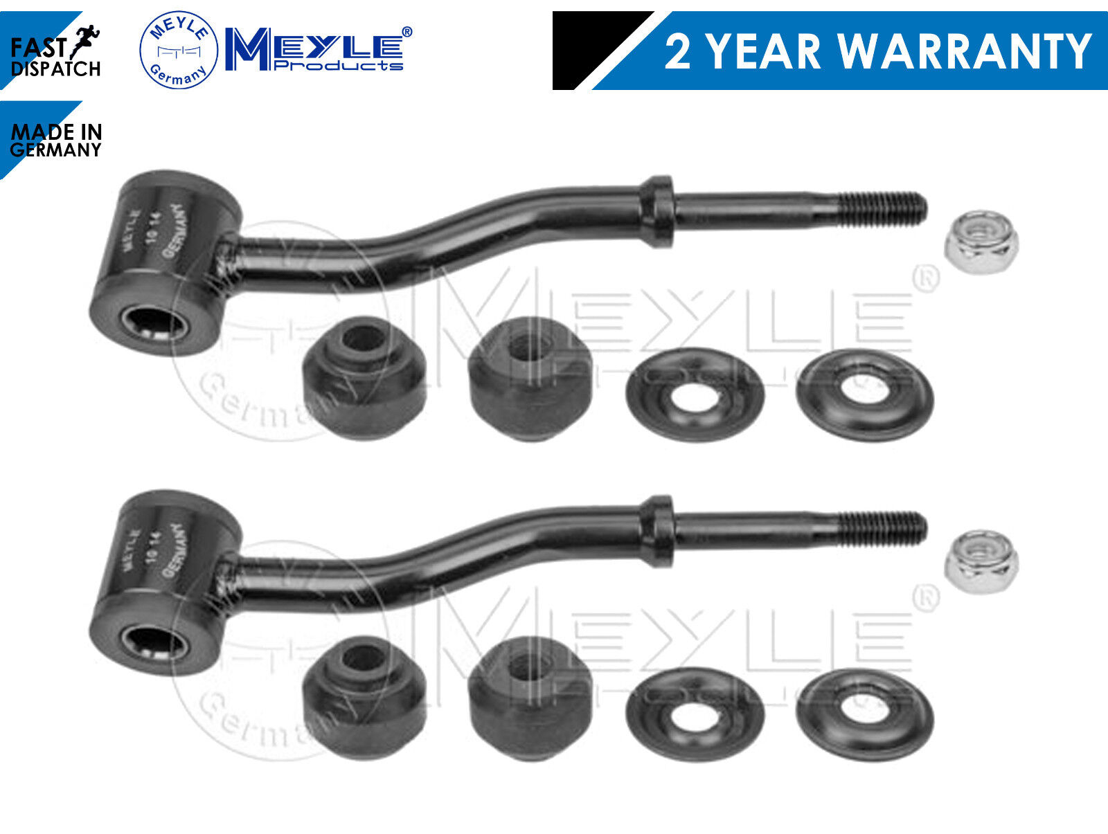 FOR JEEP CHEROKEE XJ HEAVY DUTY STABILISER SWAY ANTIROLL BAR LINK MEYLE GERMANY