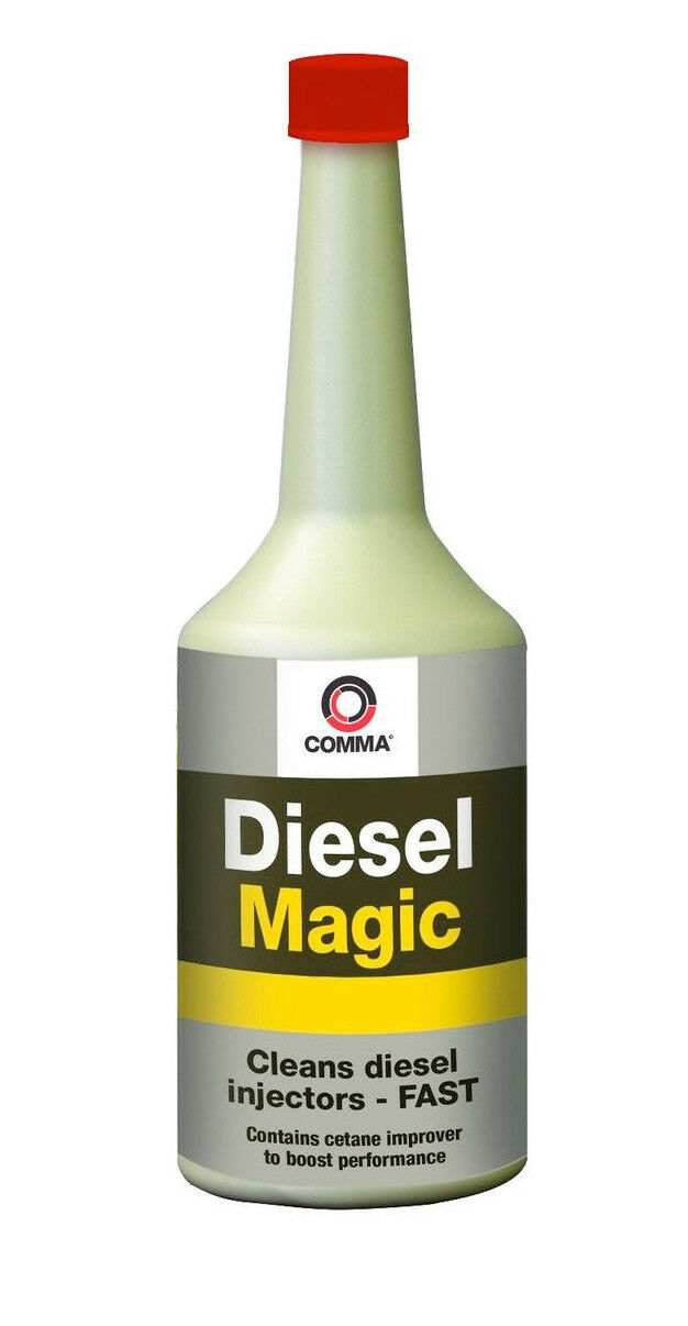 COMMA DIESEL MAGIC ONE TREATMENT CLEANS DIESEL INJECTOR