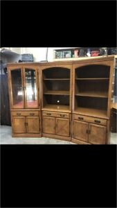 Quality bookcase and desk