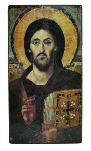 Orthodox Russian icon Jesus, Jesus Christ, Pantocrator Of Sinai Free Shipping