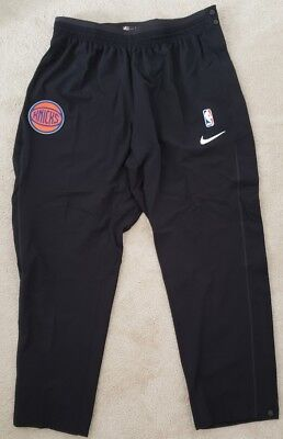 Nike Nba New York Knicks On Court Warm Up Pants Mens 2Xl Tear Away Snaps Nwt