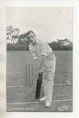 Vintage Mockford Cricket Postcard -  Kent - J Seymour