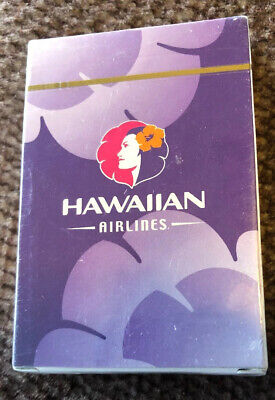 RARE! HAWAIIAN AIRLINES Playing Cards Factory Unopened Deck BRAND NEW! Hawaii