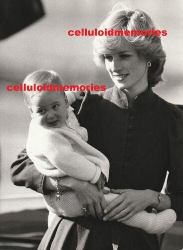 Original Press Photo Princess Diana Lady Di Spencer 1983 Prince William