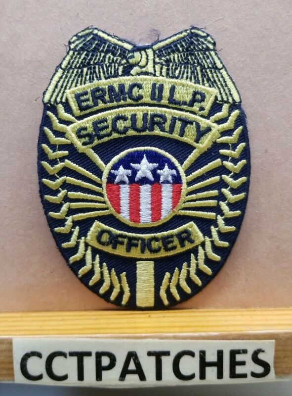 """ERMC L.P., TENNESSEE PRIVATE SECURITY 2 3/8"""" BY 3 1/4"""" POLICE SHOULDER PATCH TN"""