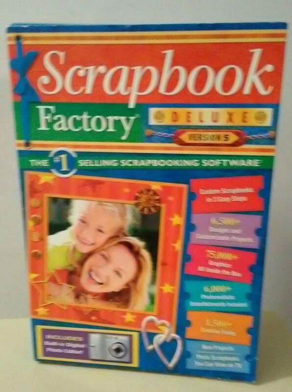 Scrapbook Factory Deluxe Version 5 Software New Other