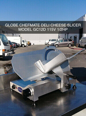 Globe Chefmate Gc12d Deli Meat Cheese Slicer- Used No Reserve