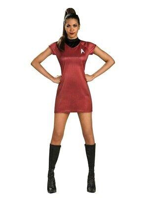 Star Trek Uhura Costume (Lt Uhura Costume Adult Star Trek Movie Halloween Fancy)