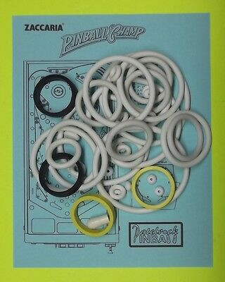 Used, Zaccaria Pinball Champ pinball rubber ring kit for sale  Shipping to Canada