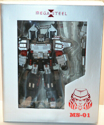 3rd party Transformers Mega Steel MS-01 Megatron - Complete