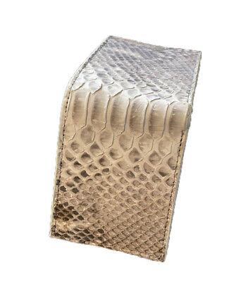Genuine Python Skin Leather Men's Bifold Wallets Made In USA - Best Prices