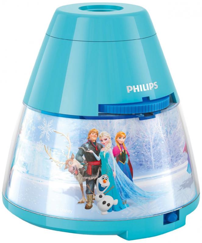 Lampada da Tavolo Proiettore LED Philips e Disney Frozen