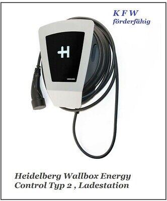 Heidelberg Wallbox Energy Control - Ladestation Elektro- & Hybrid Autos (5m)