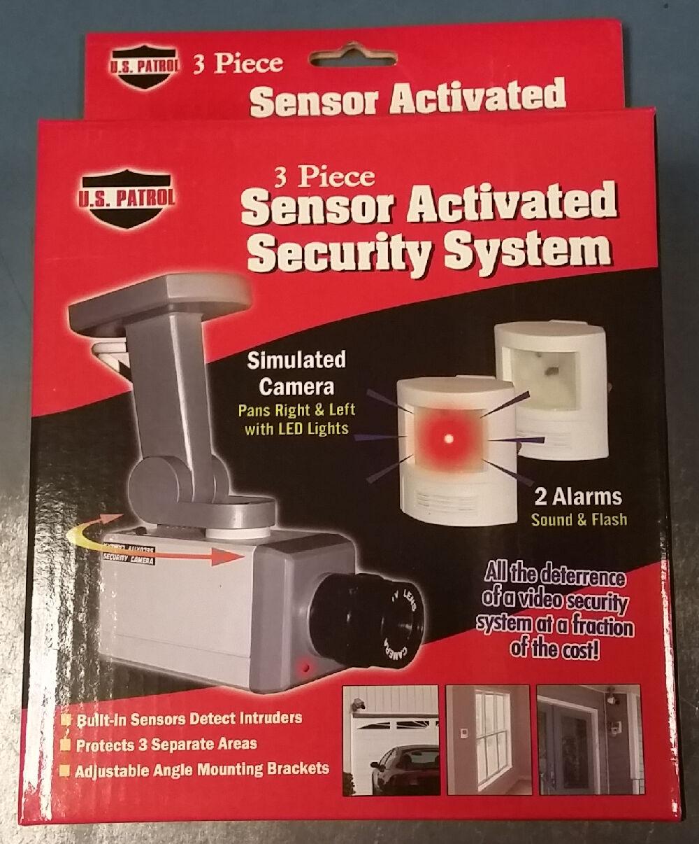 Home Surveillance Video Security System Alarm Fake Camera...