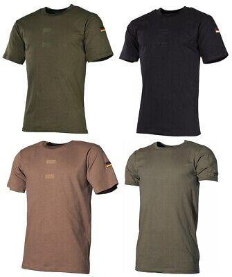 Bundeswehr Unterhemd/Tropen T-Shirt BW mit Abzeichen und Klett vers. Farben NEU ()
