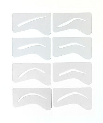 24 Microblading Eyebrow Stencil Template Permanent Makeup Brow 8 Stencils
