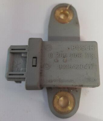 MB Sensor Querbeschleunigungssensor 0125420417 Bosch 0265005113 Sensor