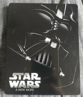Star Wars A New Hope Steelbook Blu-ray (2015)