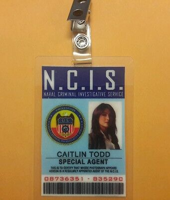 NCIS TV Series ID Badge-Special Agent Caitlin Todd