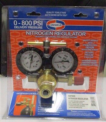 Uniweld Nitrogen Regulator 0-800 Psi - Rhp800