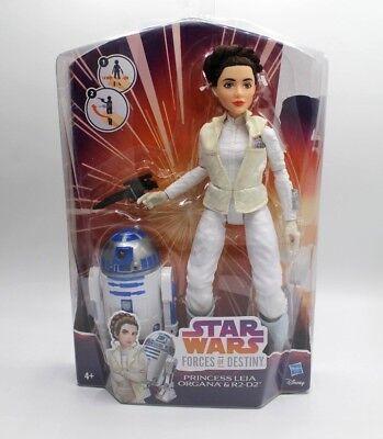 Star Wars Forces Of Destiny Princess Leia Organa & R2D2 Brandneu! gebraucht kaufen  Saarbrücken