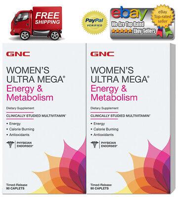 GNC Women's Ultra Mega Energy & Metabolism Multivitamin (180 ct.) *BEST