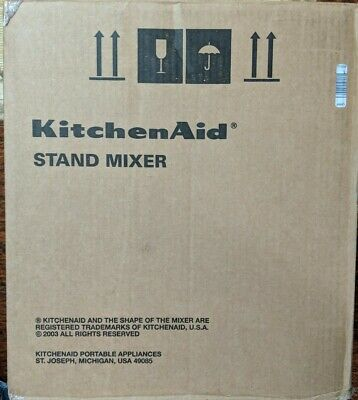 KITCHEN AID 6QT PROFESSIONAL 600 MIXER MODEL KP26M1XQ20B BLACK - New!