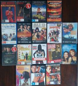 DVDs Excellent Condition Used - Eddie Murphy, Clint Eastwood ... Arana Hills Brisbane North West Preview