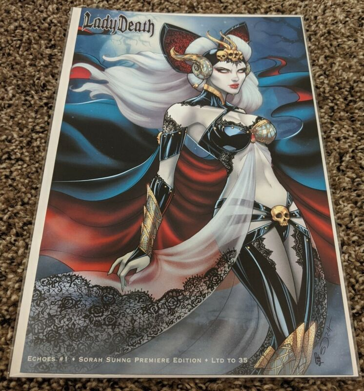 Lady Death: Echoes #1 Sorah Suhng Premiere - Limited to 35 copies