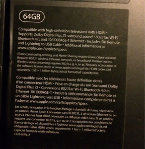 64gb Apple TV 4