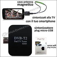 Antenna Tv Decoder Usb Televisione Digitale Per Alcatel One Touch Pop C7 - alcatel - ebay.it