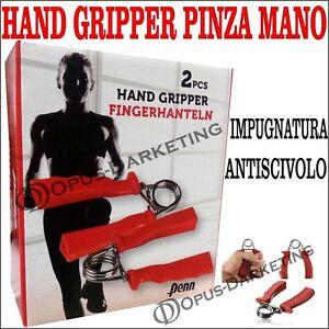 HAND GRIPPER PINZA MANI PER ALLENAMENTO MANI POLSO E AVAMBRACCI ERGONOMICA - Italia - L'oggetto può essere restituito - Italia