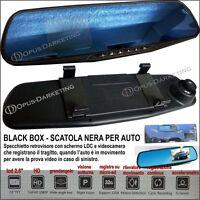 Specchietto Dvr Retrovisore Telecamera Monitor Hd Scatola Nera Universale Auto -  - ebay.it