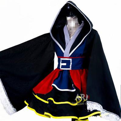 New Kingdom Hearts II Sora Female Kimono Dress Cosplay costume - Kingdom Costumes