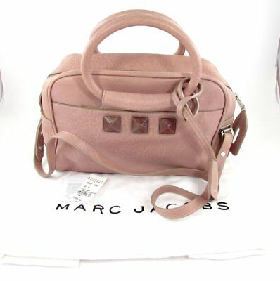 Marc Jacobs Carter Jr Studded Bag Pink Shoulder - Bag Pink Junior Handbags