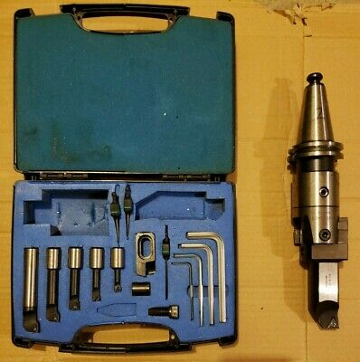 Pinzbohr Bohrstar 100 Triangular Boring Kit With Cat40 Tool Holder 2