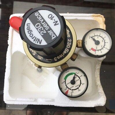 Saffire Nitrogen gas regulator Series 3