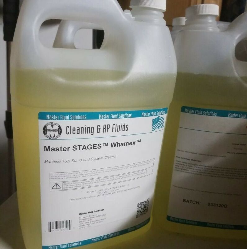 MASTER STAGES Machine Tool Cleaner,1 Gal, WHAMEX/1
